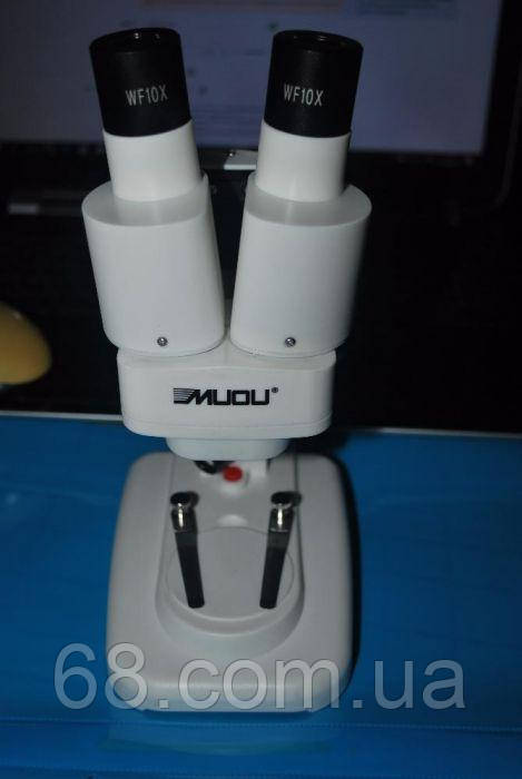 Микроскоп 40х бинокулярный для пайки и ремонта телефонов и планшетов