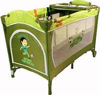 Кроватка ARTI MediumGo Green Football/Purple