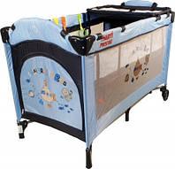 Кроватка ARTI MediumGo Light Blue/Navy Blue
