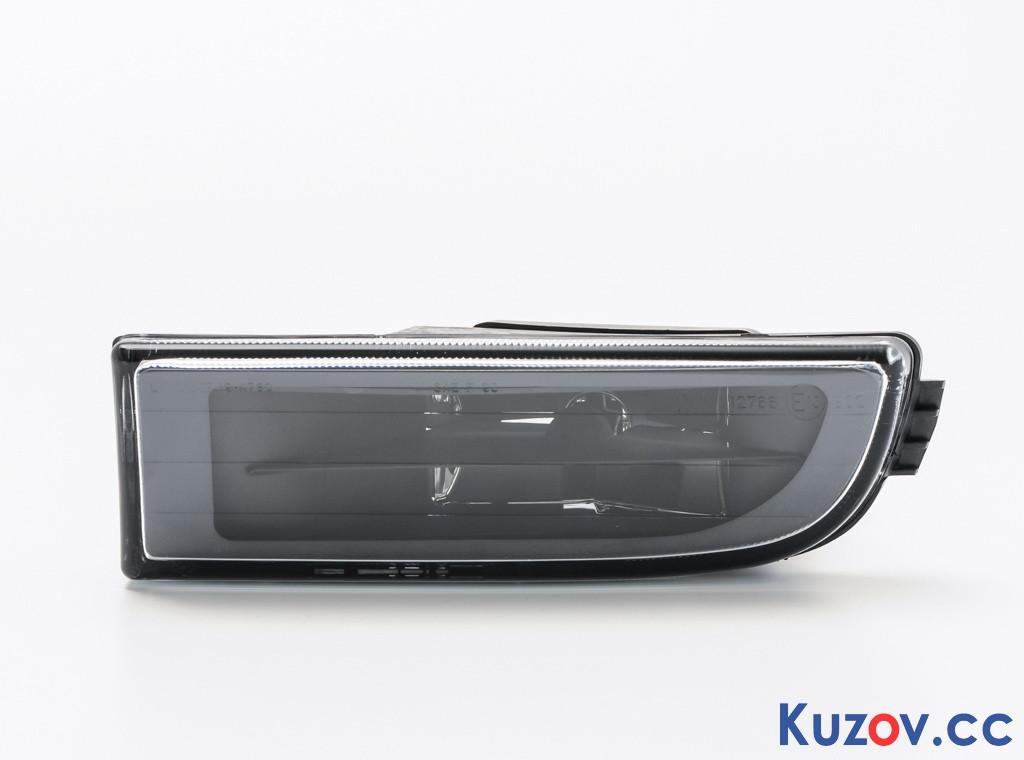 Противотуманная фара (ПТФ) BMW 7 E38 94-02 левая (Depo) черн. рассеиватель (бенз) 2022290E 63178352023