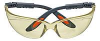Защитные противоосколочные очки neo 97-501 желтые
