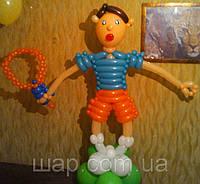 Фигура из воздушных шаров Тенесист (высота до 1,5 м)