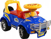 Машинка каталка   ARTI 3111 Big J синий