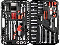 Большой набор инструментов в чемодане 1/4, 3/8, 1/2 3-32мм Yato YT-38941 225единиц