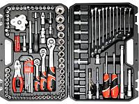 """Профессиональный набор инструмента 1/4""""-3/8""""-1/2"""" для СТО и ремонта автомобиля Yato YT-38875"""