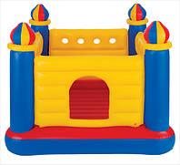 Надувной игровой центр-батут Замок Intex 48259