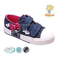 Спортивная детская обувь.Купить кеды оптом для девочек от производителя Tom.m 1356U (12/6 пар 25-30)