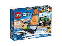 LEGO City - Внедорожник 4x4 с катамаран