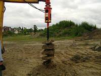 Земляные работы - копание котлованов и траншей, бурим ямы под септики, канализацию, дренаж - Услуги бура