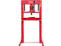 Гидравлический пресс 12тонн Yato YT-55580
