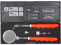 Магнитный инструмент в наборе с зеркальцем инспекционным Yato yt-0662