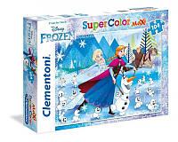 Clementoni: Головоломки 104el. макси - Frozen - Adventure and magic