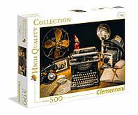 Clementoni: Головоломки 500el. - High Quality Collection: The typewriter
