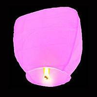 Небесные фонарики  Купол ,1 метр ,разных цветов розовый