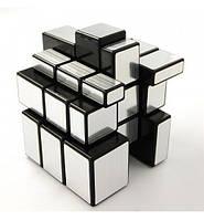 Кубик рубика 3х3 зеркальный Shengshou (серебряный)