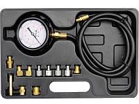 Профессиональный тестер измерения давления масла с адаптерами Yato YT-73030