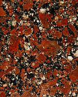 Красный гранит Капустинского месторождения