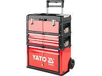 Передвижная тумба с выдвижными ящиками для хранения инструмента Yato YT-09101