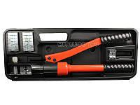 Пресс ручной гидравлический 8 тонн для обжима наконечников кабеля Yato YT-22860