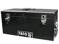 Стальной инструментальный ящик 510х220х240мм Yato YT-0886