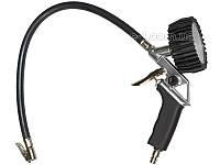 Пистолет для накачки колес с манометром Yato YT-2370