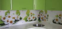 Кухонные фартуки, скинали, панно из стекла