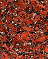 Красный гранит Войновского месторождения