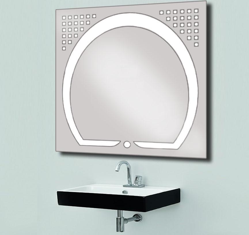 Дзеркало зі світлодіодним підсвічуванням 800х800