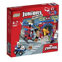 LEGO: Juniors - Spider-Man™: Убежище человека-Паука