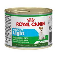 Royal Canin Adult Light консерва для взрослых собак мелких пород со склонностью к избыточному весу