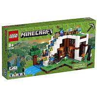 LEGO: Minecraft - База под водопадом