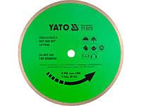 Алмазный диск для резки керамической плитки 300мм х 25,4мм Yato YT-5974
