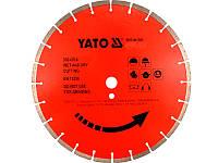 Сегментный алмазный диск по камню 300мм х 25,4мм Yato YT-5953