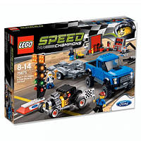 LEGO: Speed Champions - Ford F-150 и Отчет о Ford Модель A Hot Rod