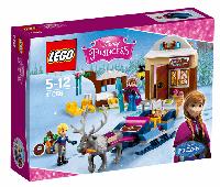 LEGO: Лицензии - Принцессы: Saneczkowa приключения Анны и Kristofa