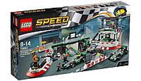 LEGO: Speed Champions - Команда Формулы-1 MERCEDES AMG PETRONAS