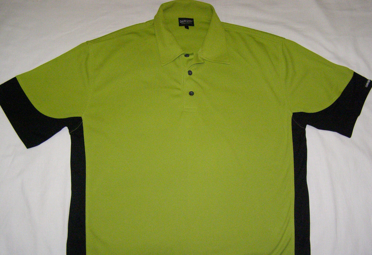 Чоловіча спортивна футболка Polo GALVIN GREEN (L)