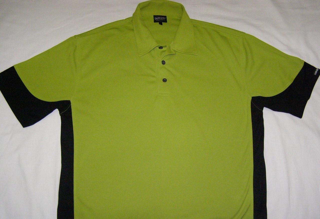 Мужская спортивная футболка Polo GALVIN GREEN (L)
