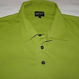 Чоловіча спортивна футболка Polo GALVIN GREEN (L), фото 2