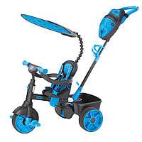 Little Tikes: трехколесный велосипед 4w1 - версия синий неон