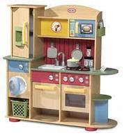 Little Tikes - Приготовле' Creations Premium Wood Kitchen