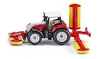 Siku Super: Серия 16 - Трактор Steyr с косилкой