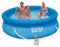 Intex 28122 (56922) надувной семейный бассейн easy set (305Х76)