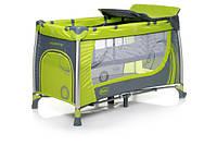 Детская кроватка в турист. Moderno Green