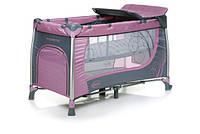 Детская кроватка в турист. Moderno Purple