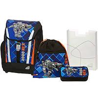"""Ранец Schneiders 78303-070 """"Robo Rex"""" рюкзак+сумка для обуви+пенал под наполнение+пенал"""