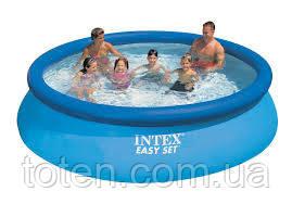 Надувний басейн сімейний Intex 28130, 366 х 76 см, 5621л