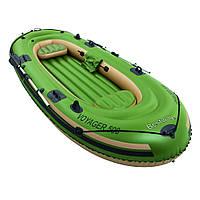 Надувная лодка c веслами Voyager 500, 348х141см, 3 человека, до 252 кг