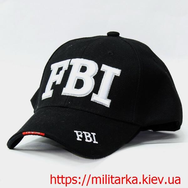 Кепка милитари FBI черная