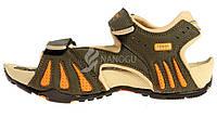 Сандалии женские спортивные с массажной стелькой хаки оранжевый 4Rest USA, Хаки, 40